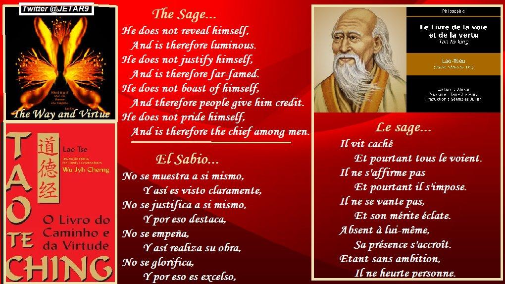 Le sage… Il ne se vante pas #Lao_Tseu #Sagesse   The Sage… He does not boast #Lao_Tzu #Wisdom  El Sabio… No se glorifica #Lao_Tse #Sabiduria<br>http://pic.twitter.com/Qo9MJThxNb