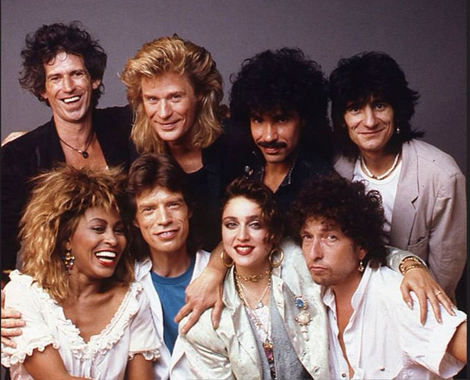 Happy birthday Daryl Hall! John Oates The Rolling Stones Mick Jagger, Keith Richards, Ronnie Wood.