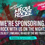 Get to it. Buy your tickets for #mediarocks in aid of the @mstrust presented by @captify.  See you there!  https://t.co/vF2Gc7748d