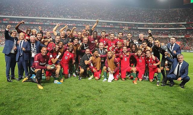 Great team effort! Thank you all for your support. Russia, here we come!!👍🏽🇵🇹