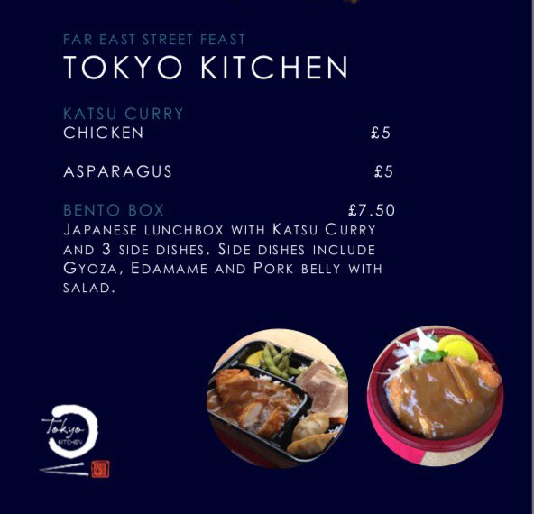 Tokyo Kitchen On Twitter Today S Menu At Quorumhub Come