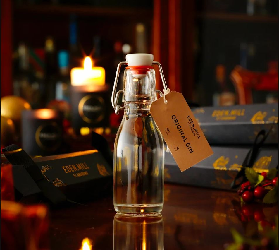 Thanks to @EdenMill all guests will get a cracker with a gin miniature and a voucher for popular distillery tour #excited #courierbizawards <br>http://pic.twitter.com/NrgEWWcFIY