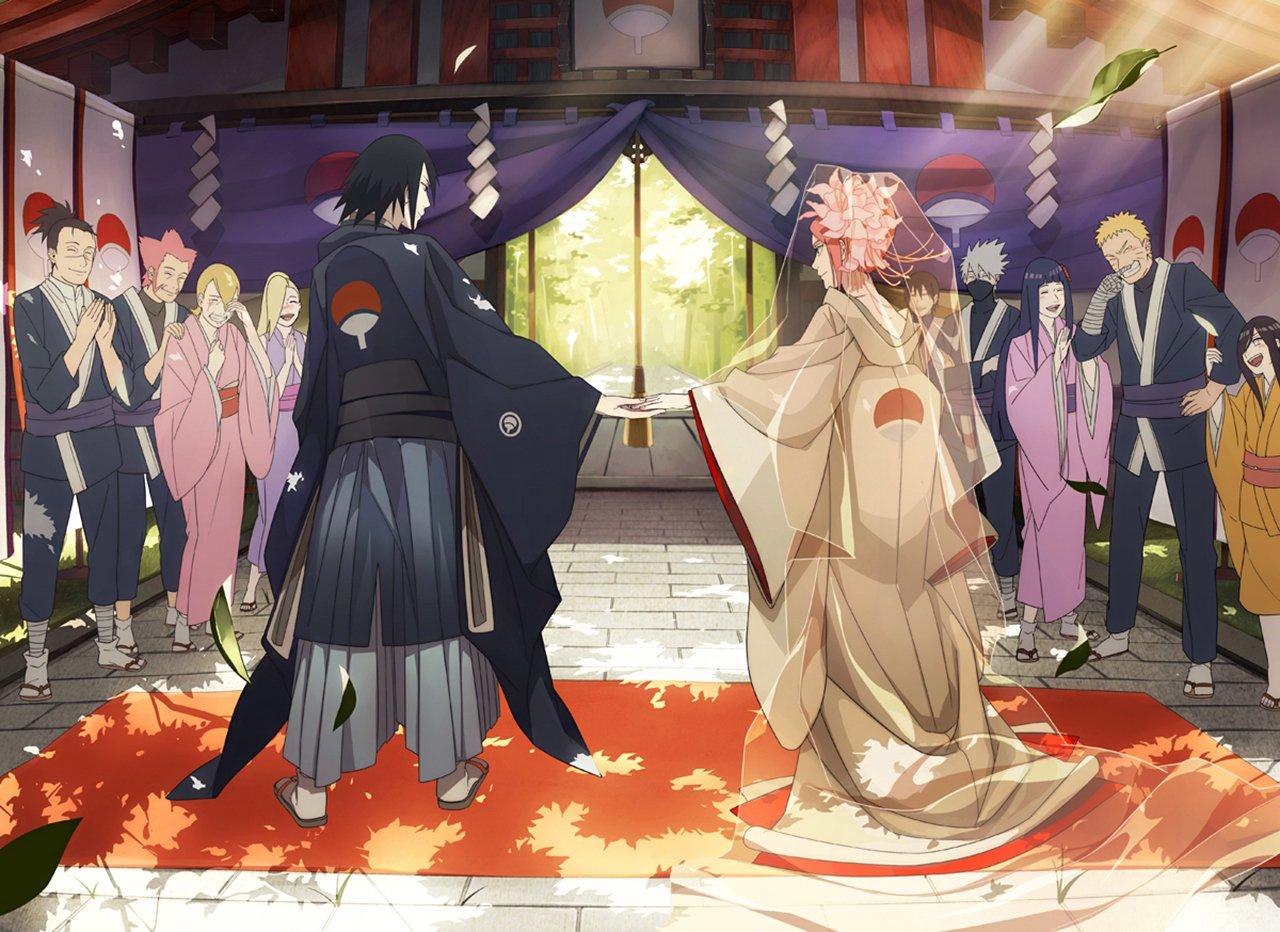 Sasuke sakura wedding