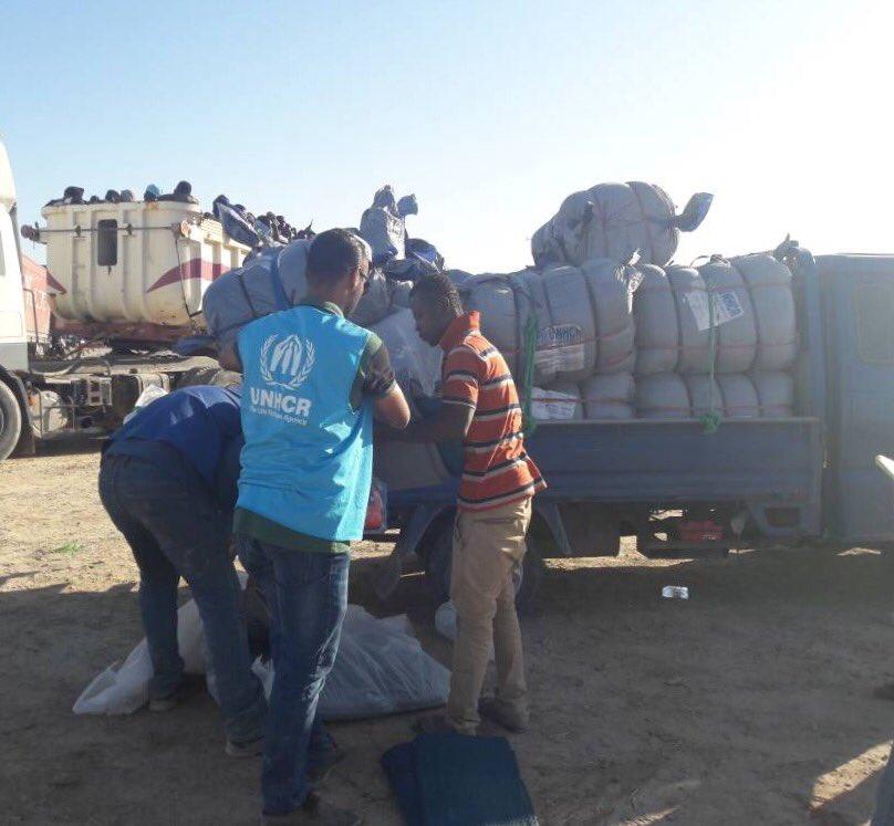 #Libya: 🇮🇹 provides food and medicines to #Sabratha & #Zuwara together with @IOM_Libya and @UNHCRLibya