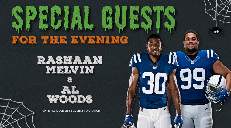 6f913430 Colts Events on Twitter: