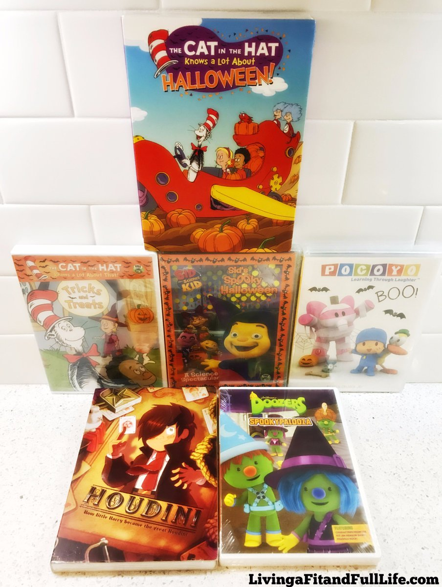 the queen of cardio on twitter host a halloween moviemarathon for kids with dvds from ncircle giveaway httpstcoszfzoqjnhg thecatinthehat