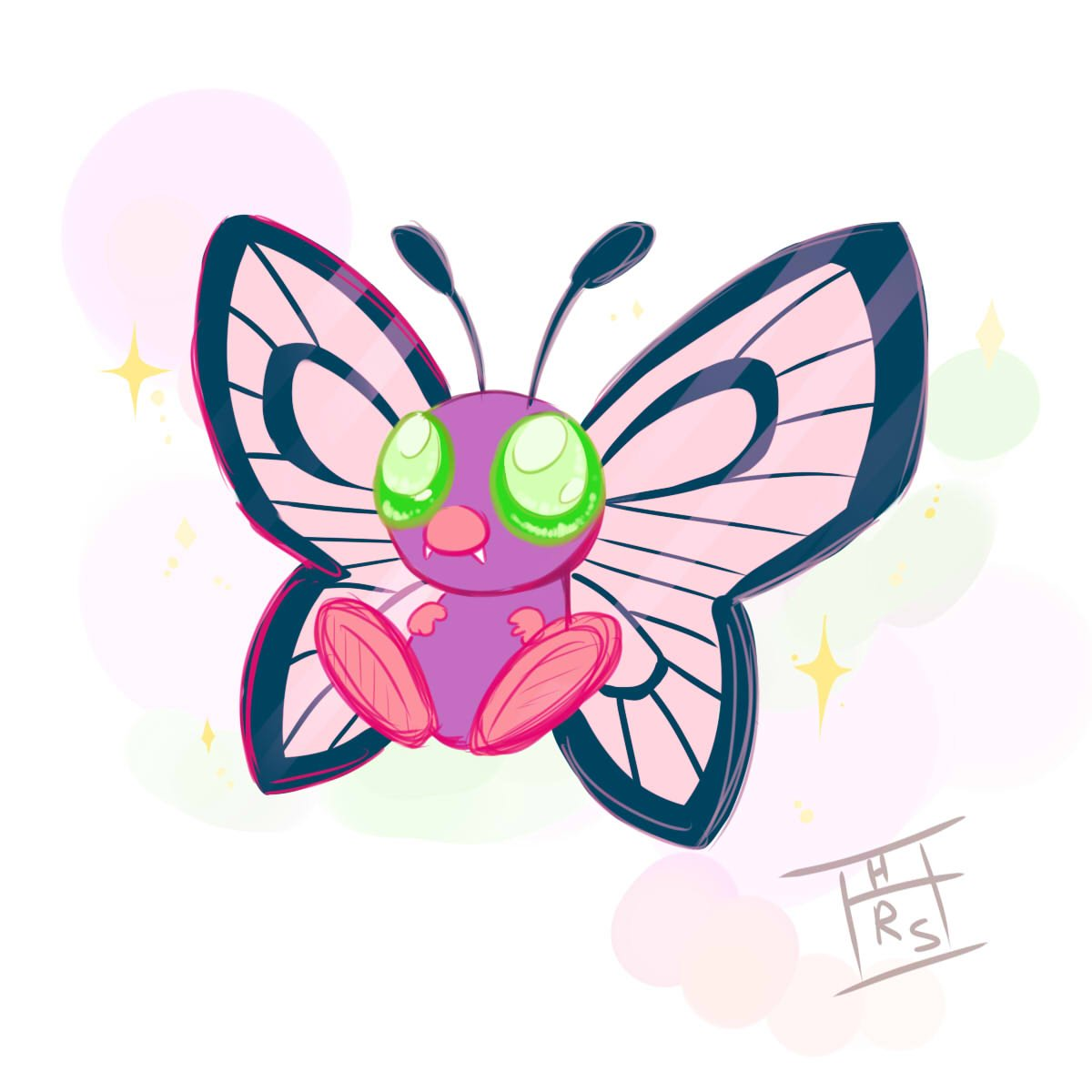 butterfree hashtag on twitter