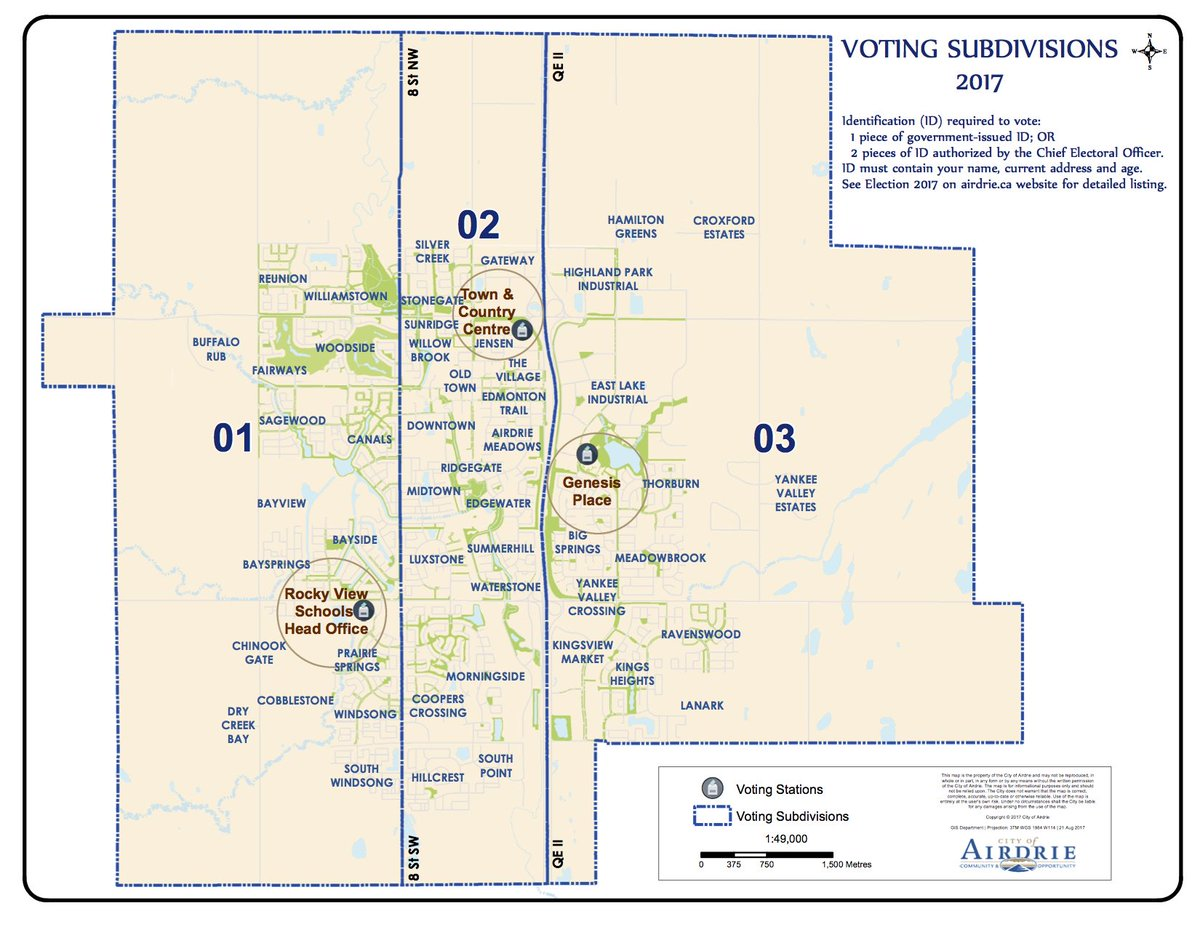 Airdrie City View on Twitter Wondering where you go to vote We