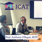 Prof. Anthony O'Regan of RCPI speaking about integrating clinical and academic training at the ICAT meeting in @nuigalway @RCPI_news