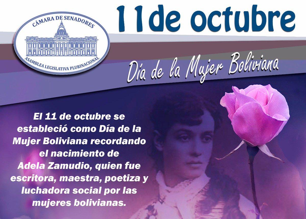 Senado De Bolivia A Twitter Feliz Dia De La Mujer Boliviana Felicidades A Ellas Que Dia A Dia Aportan Con El Desarrollo De Este Pais · 11 ekim 2013 · coral gables, florida, amerika birleşik devletleri ·. senado de bolivia a twitter feliz dia