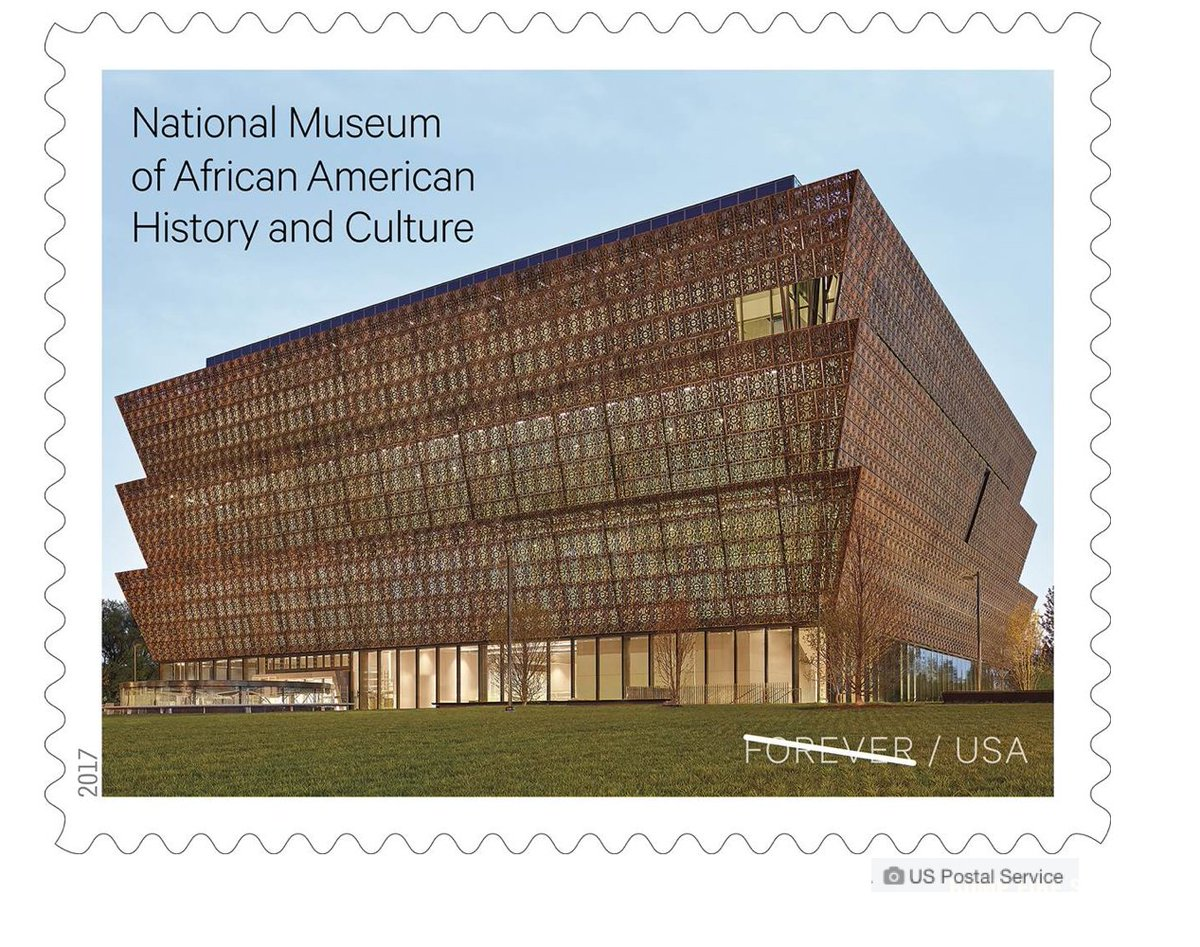 Forever Stamp commemorating 1- yr anniversary of @NMAAHC goes on sale Friday.  via @NBCNews https://t.co/u3hDPk3V6u https://t.co/P1UWe6Coq9
