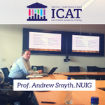 Prof. Andrew Smyth of @NUIG_Medicine speaking about the trials and tribulations of grant writing! #ICAT monthly meeting