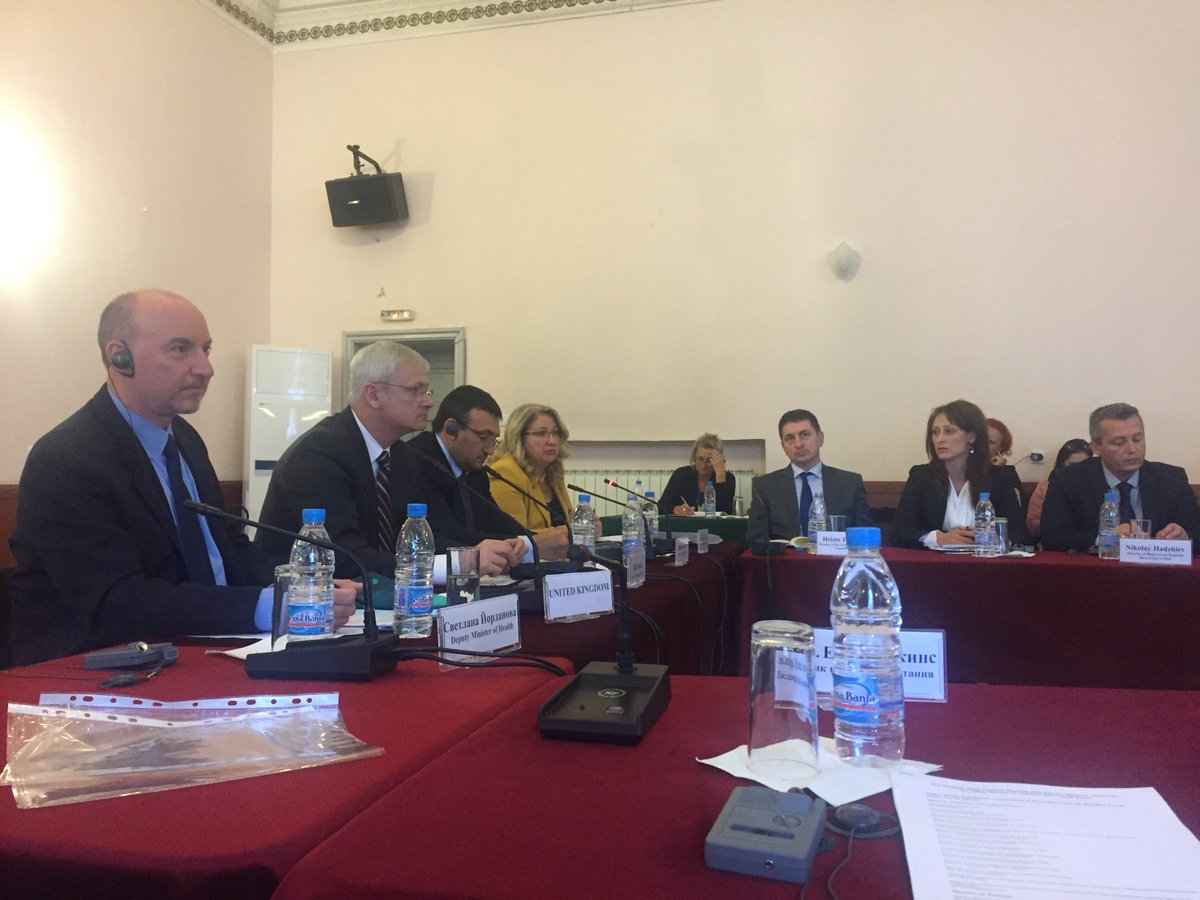 Productive Mass Tourism Meeting with the Bulgarian authorities and other Sofia based Embassy reps. Discussed winter season preparations. https://t.co/oW9okwULGO