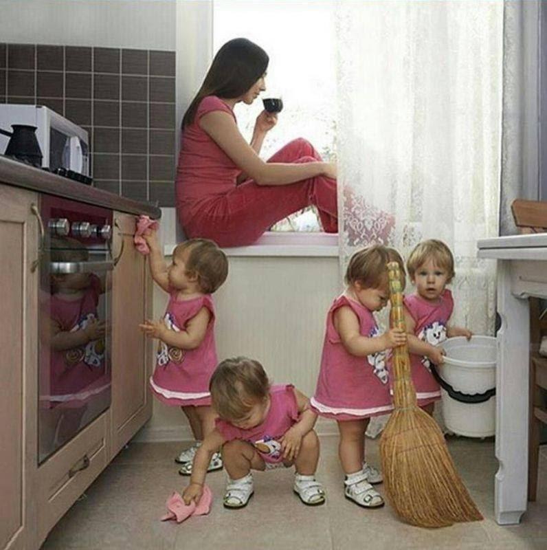 Доброе утро, прикольные картинки мама и ребенок