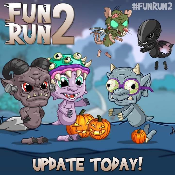 Time to get Spooky! #FunRun2 #update #iO...