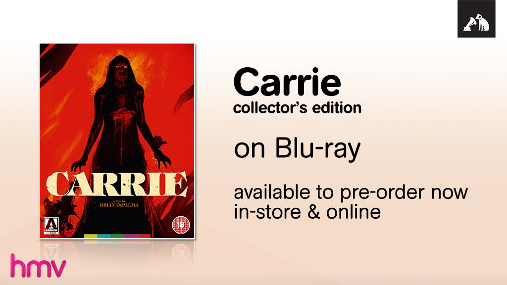 &quot;If I concentrate hard enough, I can move things.&quot; Pre-order the #Carrie collector&#39;s edition in-store &amp; online:  http:// hmv.co/b5lm3y  &nbsp;  <br>http://pic.twitter.com/YLdjfkYzo6