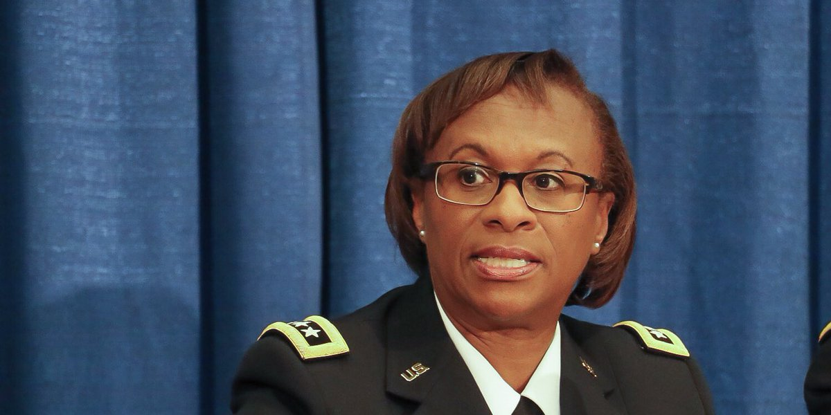 """OACSIM U.S. Army on Twitter: """"#USArmy LTG Gwen Bingham ..."""