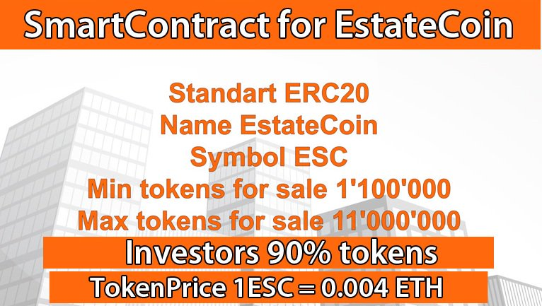 All you need is #EstateCoin Only we offer you 90% of #tokens in #ICO Project offers a new concept of #investment  #ICOs #mining #btc #ETH<br>http://pic.twitter.com/f3xETfBWdt