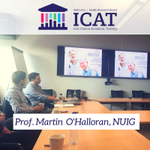 Prof. Martin O'Halloran Director @TMDLab speaking about medical device development in #ICAT meeting @nuigalway