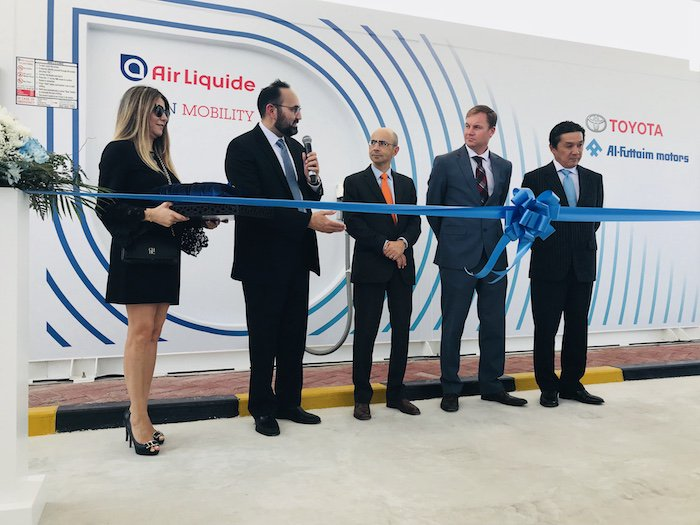 RT @airliquidegroup New! 1st #hydrogen station inaugurated by #AirLiquide and Al-Futtaim Motors in #Dubaï! https://t.co/CwGwISVdQ7
