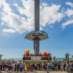 So proud to be part of this diverse and welcoming city #NationalComingOutDay #Brighton #standproud @PrideBrighton