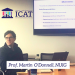 Prof. Martin O'Donnell advising #ICAT fellows on mentorship throughout their careers  @CrfgHrb @NUIG_Medicine