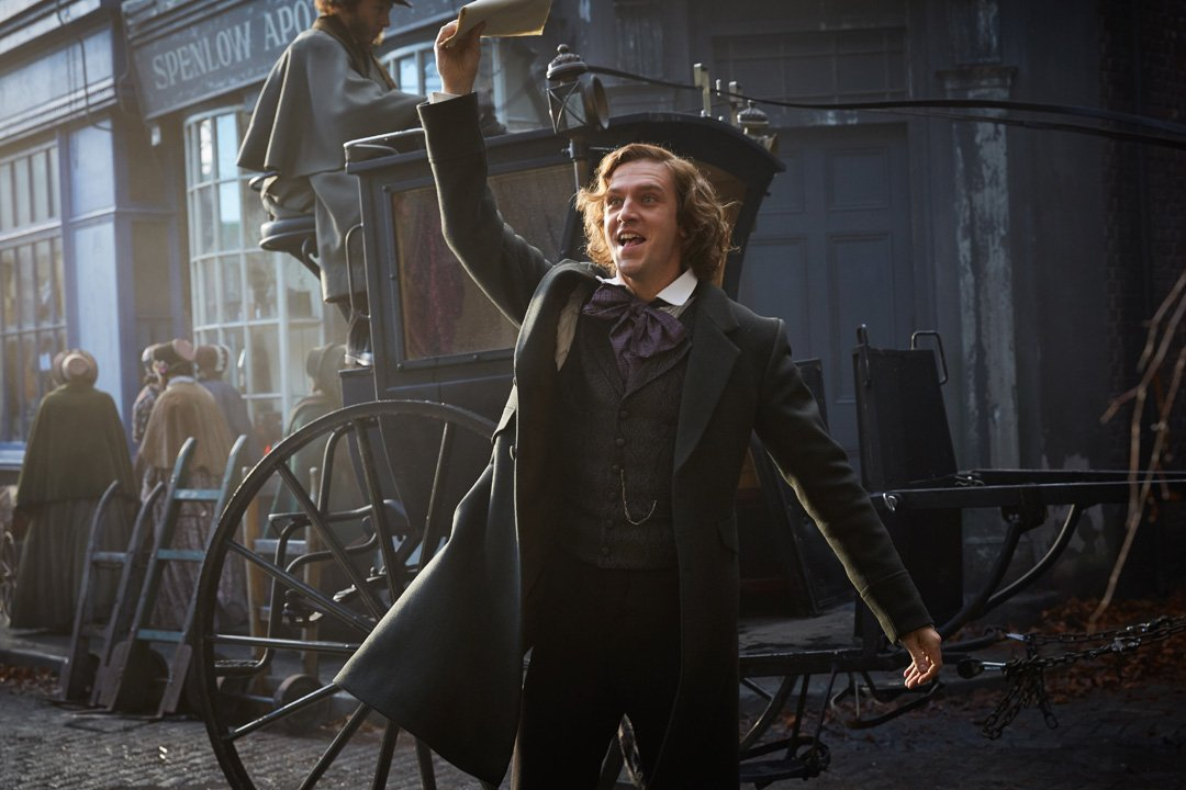 The Man Who Invented Christmas Trailer.Dickens Museum On Twitter Check Out Trailer For The Film