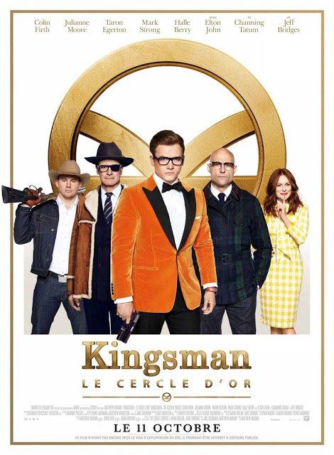 En salles dès aujourd'hui, Kingsman : Le Cercle d'Or de Matthew Vaughn. #Kingsman  #LeCercledOr @20thCFox_FR   http:// fuckingcinephiles.blogspot.fr/2017/09/critiq ue-kingsman-le-cercle-dor.html  …  pic.twitter.com/X1rxW3uI9C