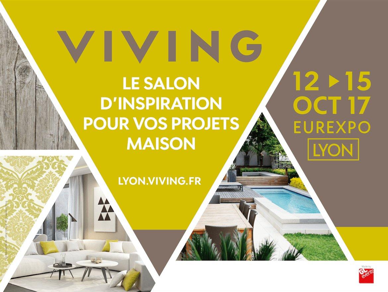 Gl events on twitter tout pour la maison au salon viving organisé par glevents exhibitions à eurexpo lyon 12 15 oct viving lyon