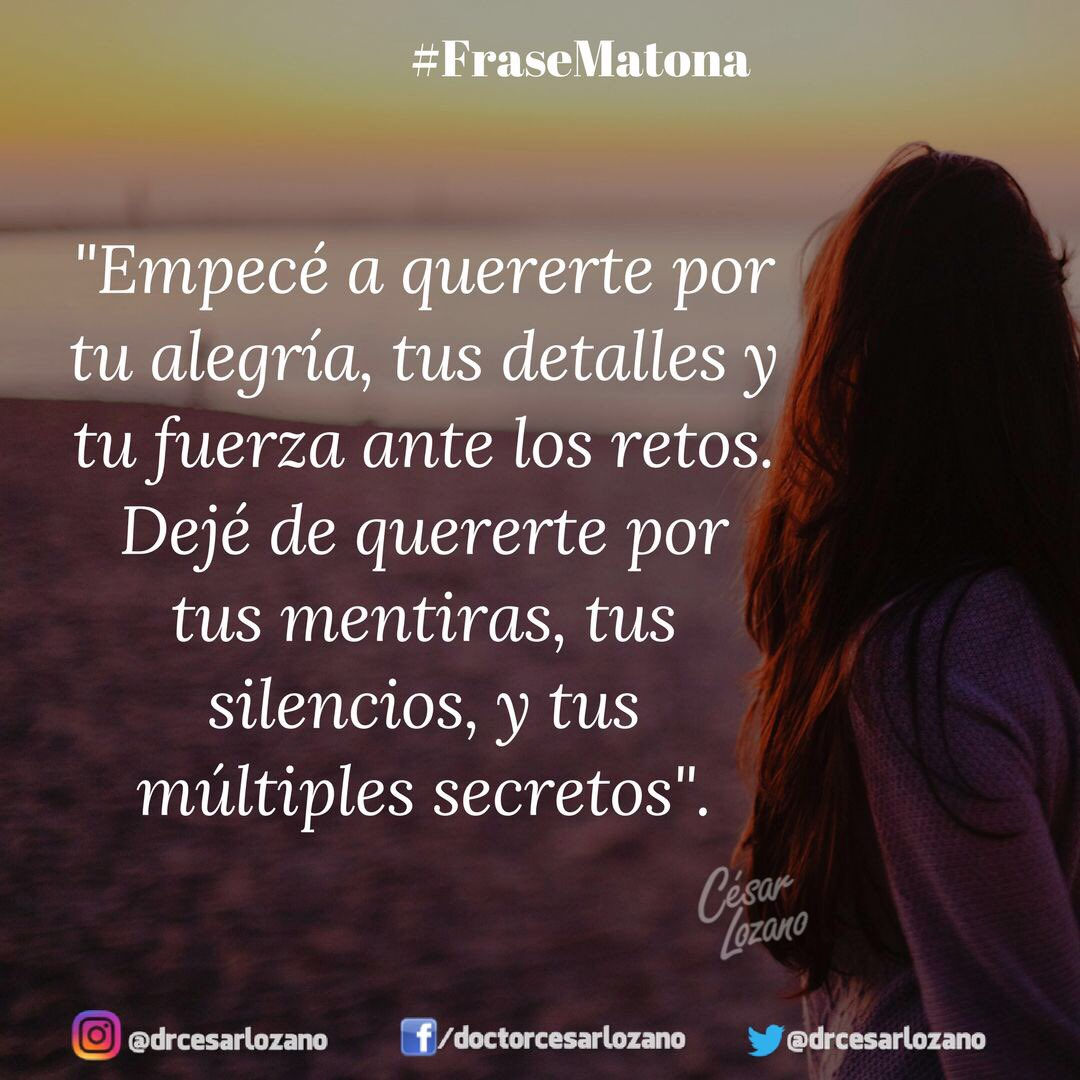 RT @drcesarlozano: #FraseMatona https://t.co/AdB1yvxvrr