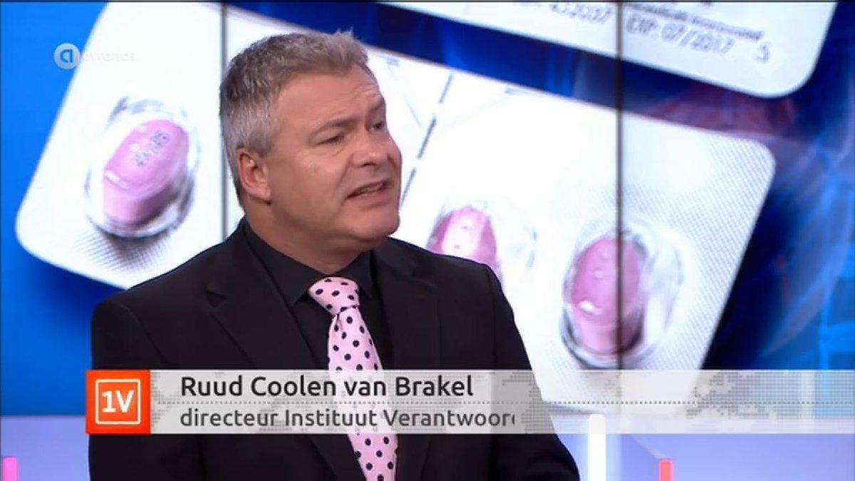 """""""Vaccinatie beloningssysteem"""" Ruud Coolen van Brakel (IVM) bij Café Weltschmertz"""