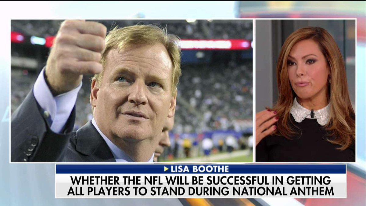 .@LisaMarieBoothe: 'Roger Goodell only cares about this because it's hurting his bottom line.' #Outnumbered