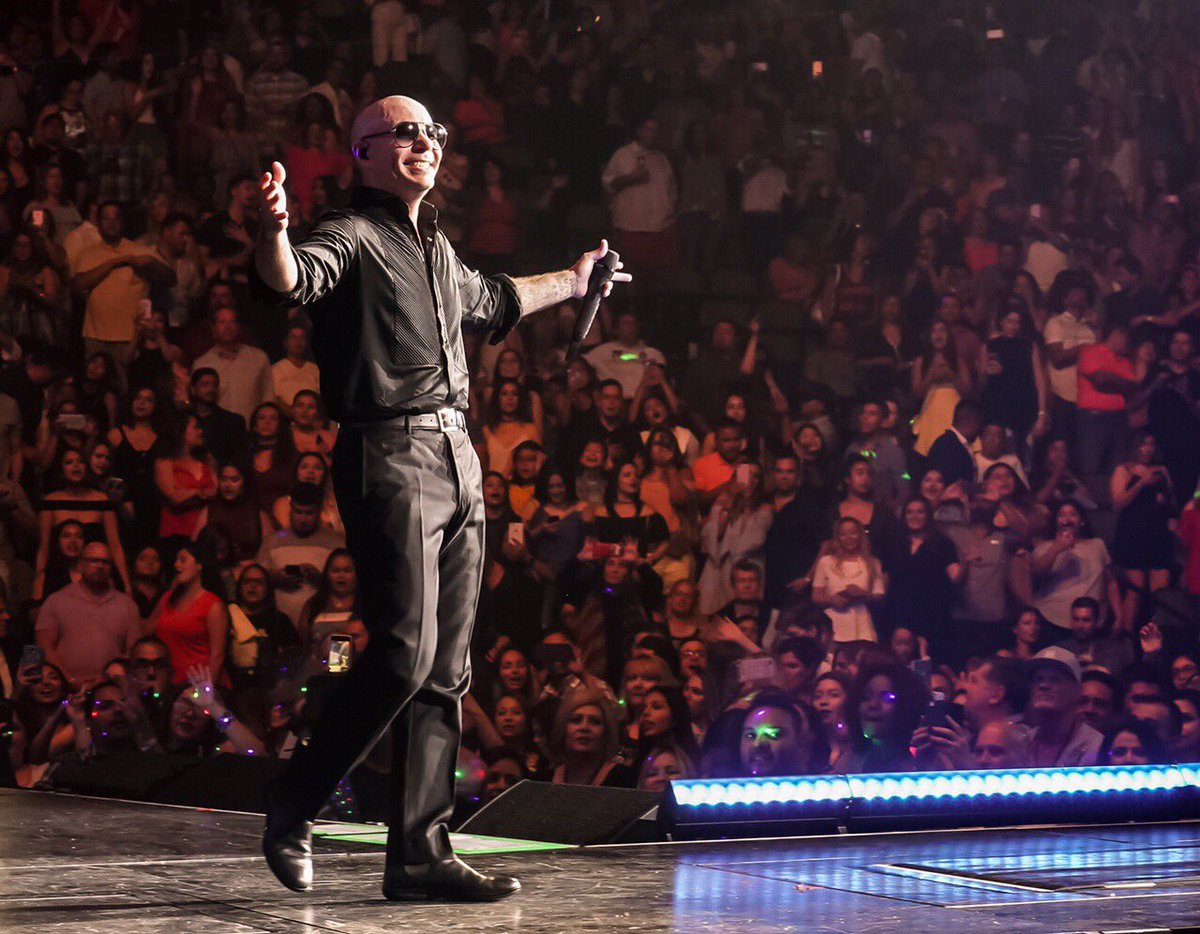 We had a great night, Newark #EnriquePitbullTour