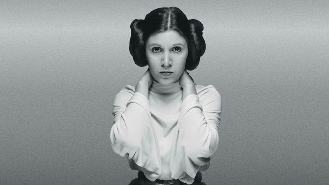 Happy birthday to the late Carrie Fisher.