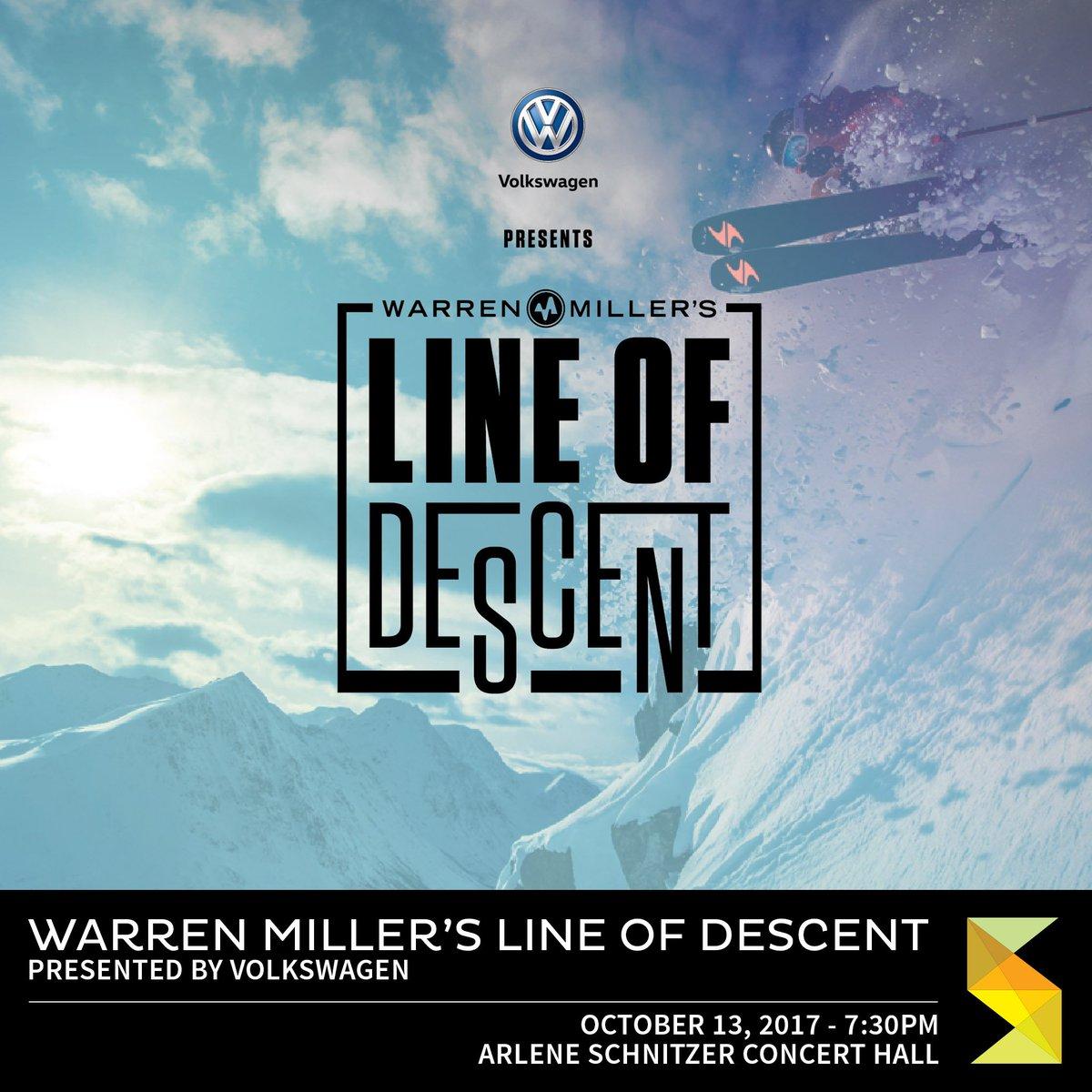 Portland On Twitter Warren Millers Line Of Descent Arlene - Arlene schnitzer tickets