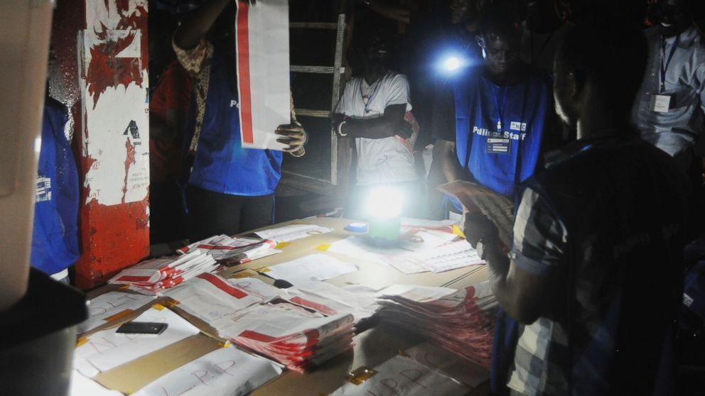 #Liberia: Final results of #election expected w/in 2 wks, but #runoff #election likely in contest of 20 #candidates  https:// buff.ly/2y9frPH  &nbsp;  <br>http://pic.twitter.com/jjEN0UdYy7
