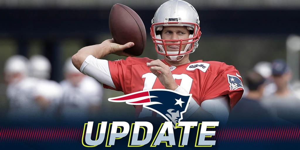 Tom Brady returns to practice for Patriots: https://t.co/7DwPZ2n4RA https://t.co/Tc9HRdHTNq