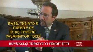 ABD Büyükelçisi John Bass giderayak Türkiye'yi tehdit etti: