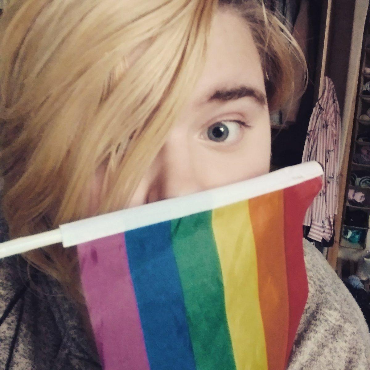 And lesbian flag