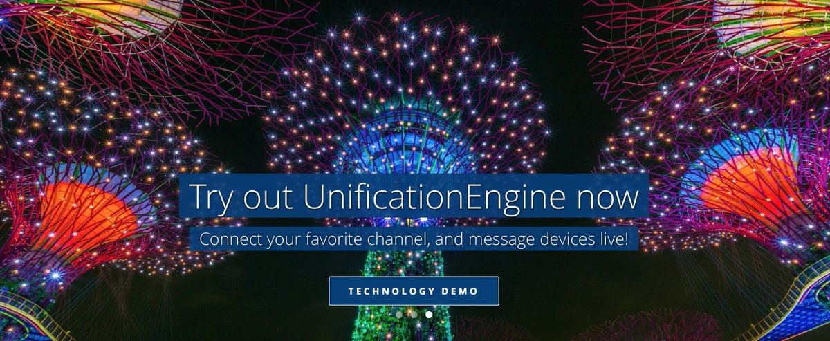 Today&#39;s #SoSoShow is brought to you by UnificationEngine™ intelligent #IoT #messaging. Simply communicate -  http:// demo.unifiedinbox.com  &nbsp;  . <br>http://pic.twitter.com/lCYaVIlgC0