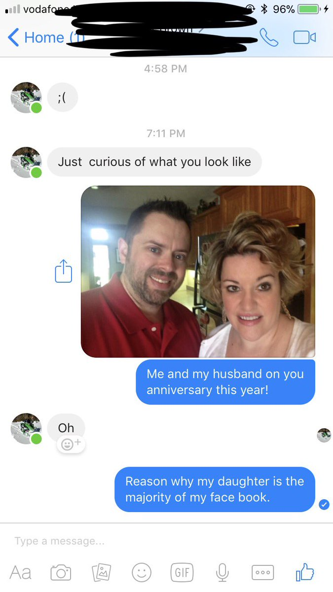 how to get rid of a creepy guy