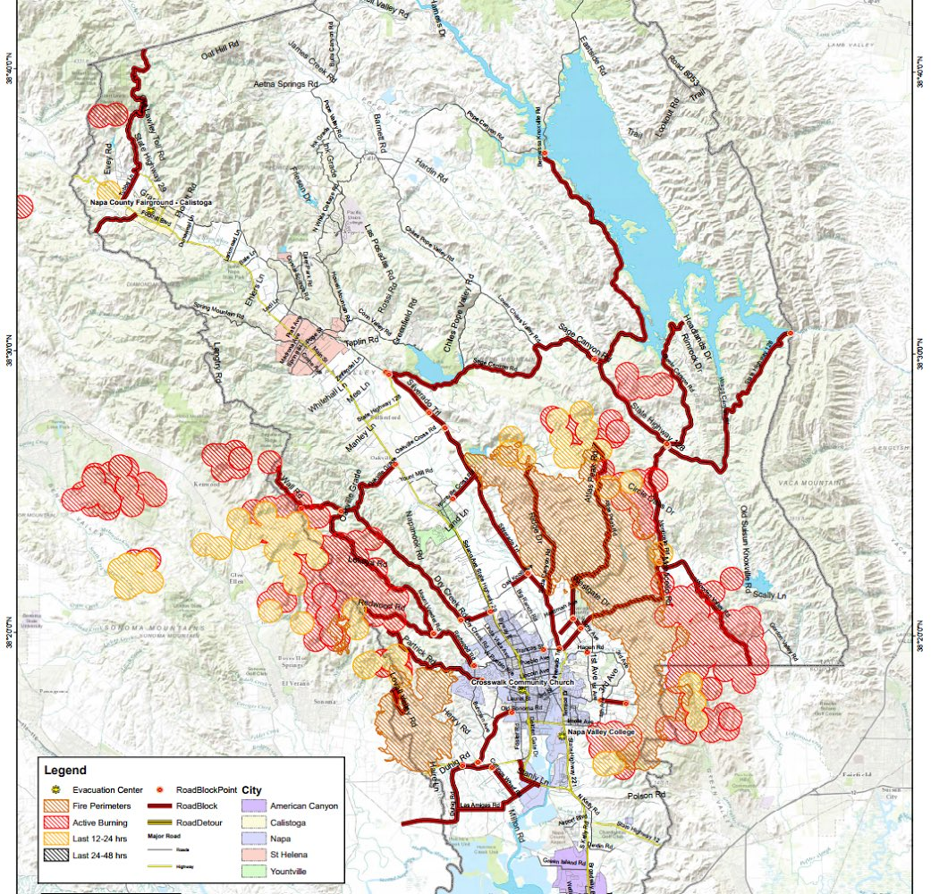 Sierrafish Com On Twitter Napafire Updated Map Keep An Eye On