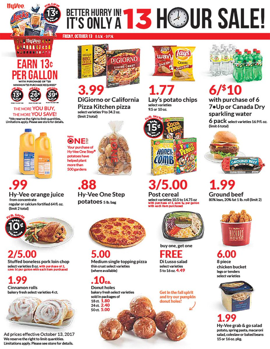 We've got 13 hours of spooktacular savings for you this Friday, Octobe...