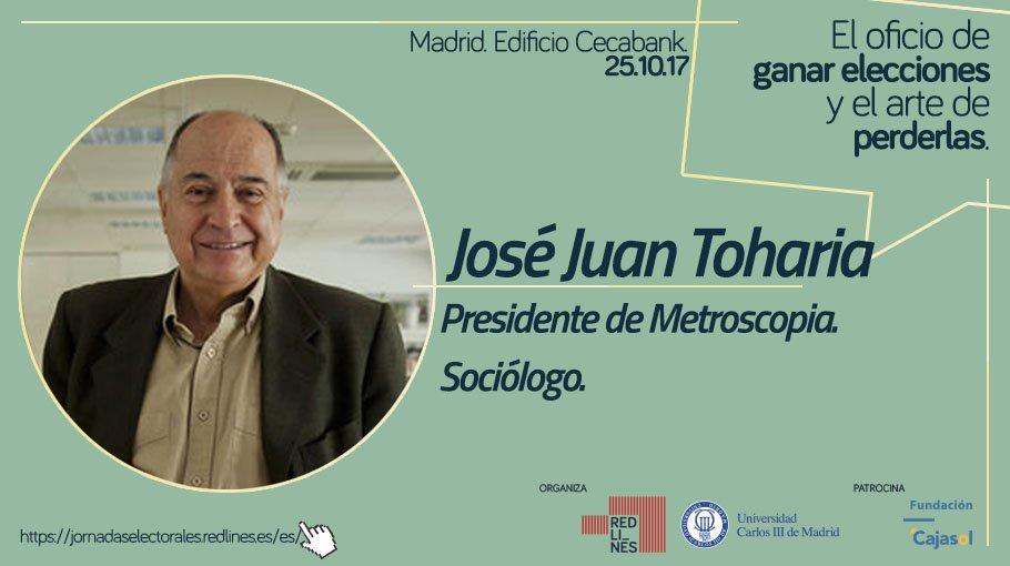 Resultado de imagen de José Juan Toharia, presidente de Metroscopia