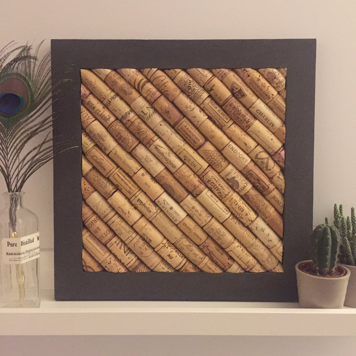 Our new corkboards in partnership with @BeatnikFraming in Liverpool. What do you think? #cork #winecorks #prosecco #corkboard #corkcraft<br>http://pic.twitter.com/CF7km02XQ0