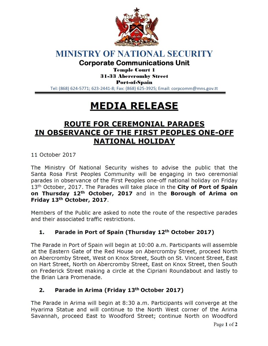 M National Security On Twitter Media Release