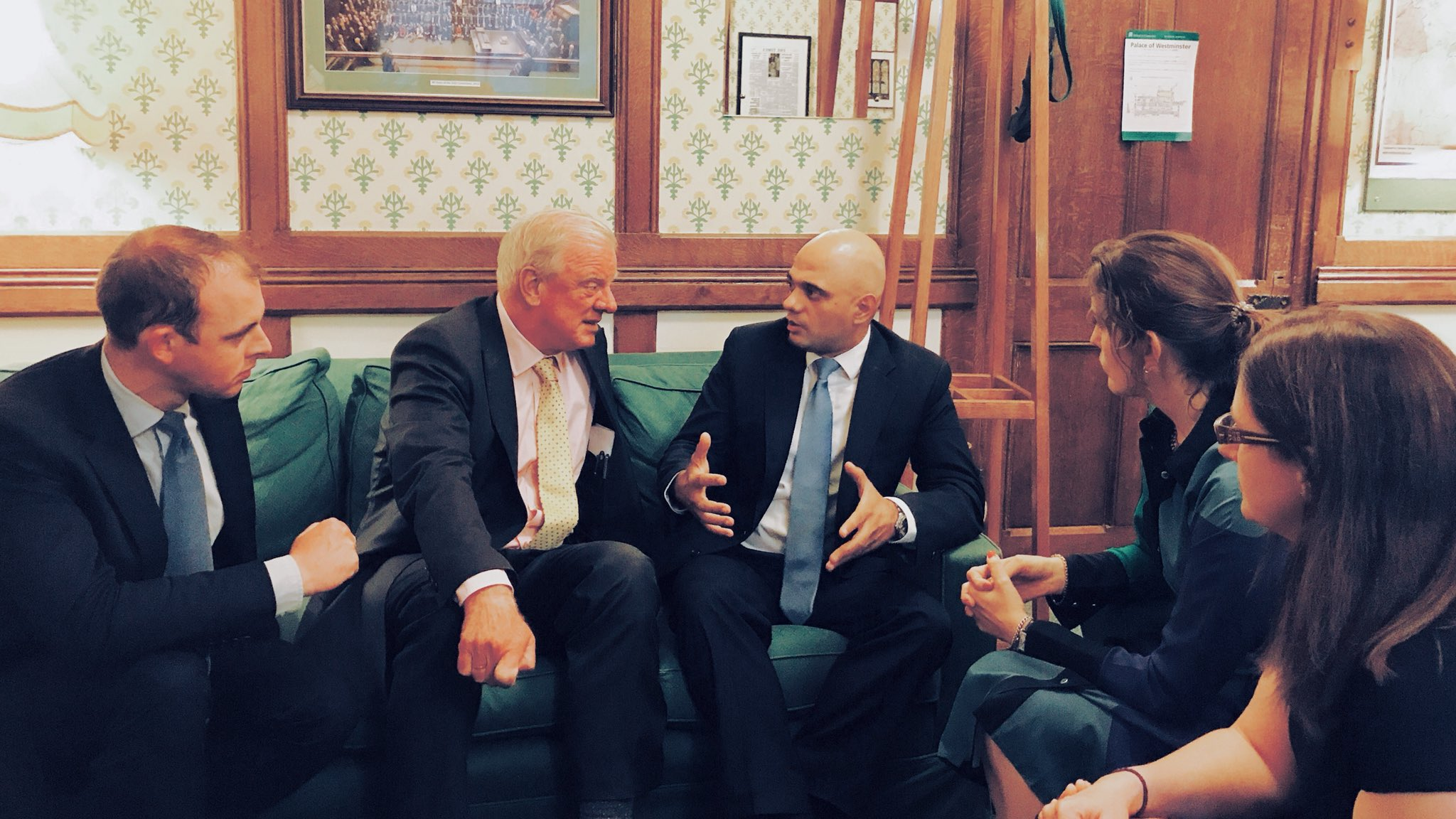 Lincolnshire MPs meet Secretary of State Sajid Javid MP