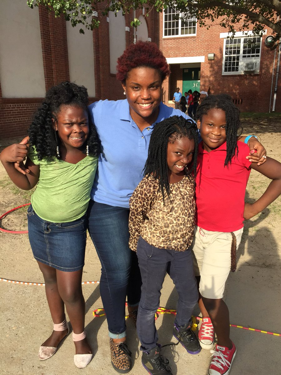 """I told them I was scared to jump in while they turned the rope, they said """"it's ok girl, YOU GOT THIS!"""" @WINGSforKids #educator #sel #kids<br>http://pic.twitter.com/jf8I9D7Vnm"""