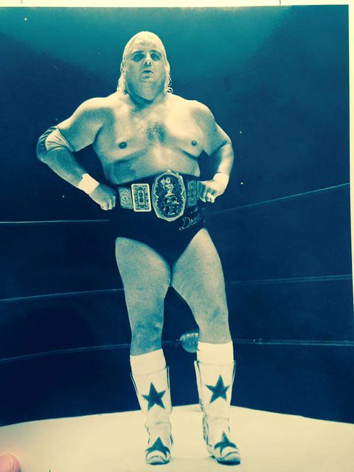 "Happy Birthday ""American Dream\"" Dusty Rhodes! Forever in our hearts!"