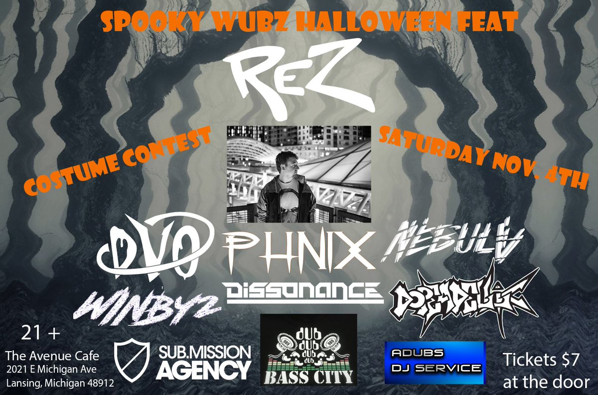 """dvo on twitter: """"who will i see at spooky wubz halloween feat"""